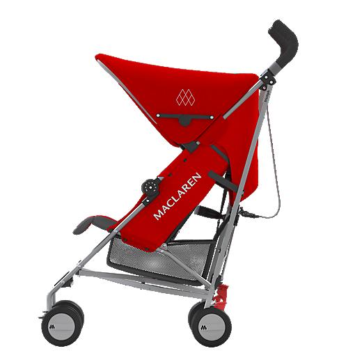 Maclaren Triumph Stroller - Cardinal/Charcoal