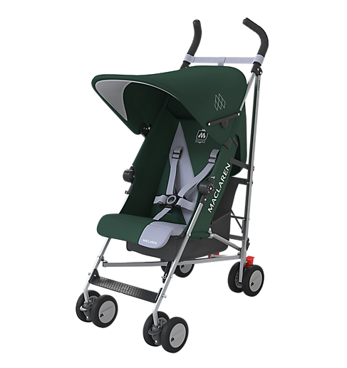Maclaren Triumph Stroller - Highland Green/Grey Dawn