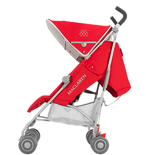 Maclaren Quest Stroller-Cardinal/Silver