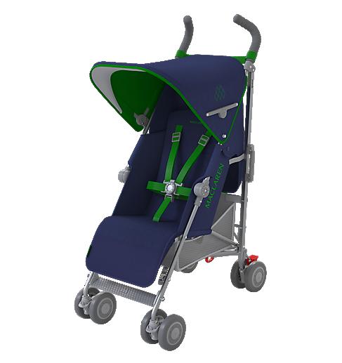 Maclaren Quest Stroller-Medieval Blue/Jelly Bean