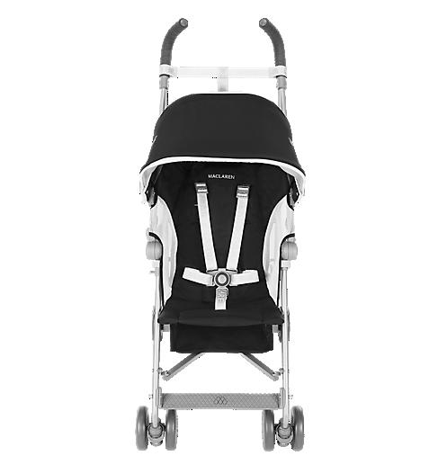 Maclaren Globetrotter Stroller- Black/White
