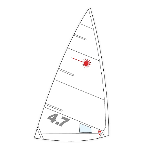 Laser 4.7 Sail