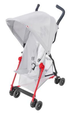 Maclaren Mark II Recline Stroller in Silver